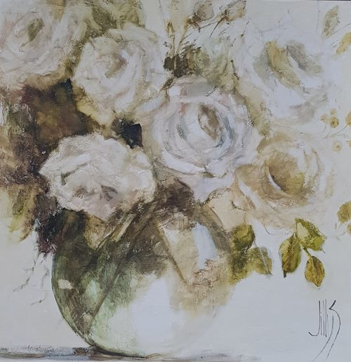 Textured roses